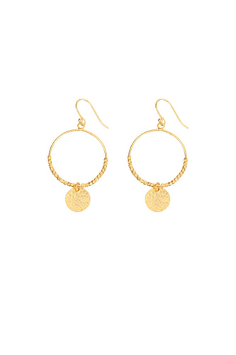 Dominique Mini Hoop Earrings