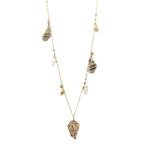 Bondi Shell Layer Necklace