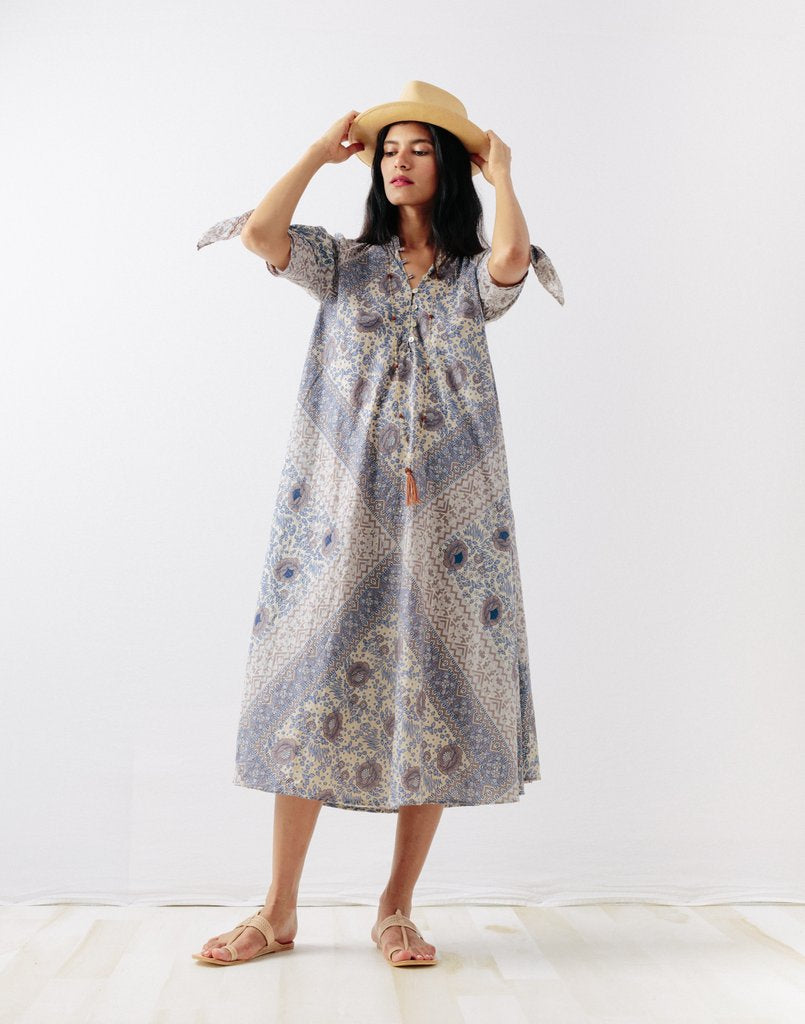 Manasi Dress in Fog