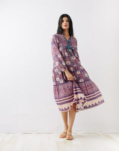 Yamini Dress in Ink