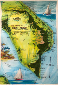 Map of Great Abaco