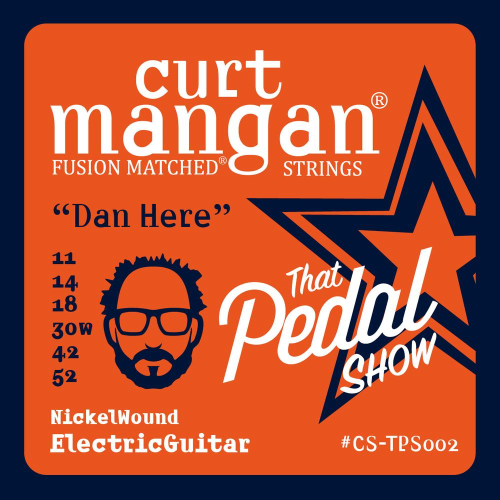 Curt Mangan Dan Steinhardt That Pedal Show Signature Set 11-52 Nickelwound Electric Guitar Strings