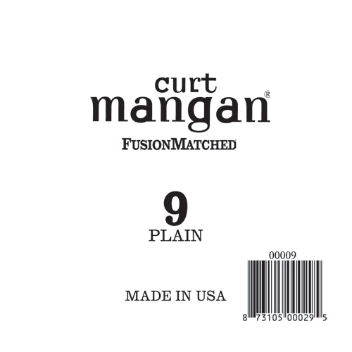 Curt Mangan 9 Plain Ball End Single String - Dynamic Music Distribution