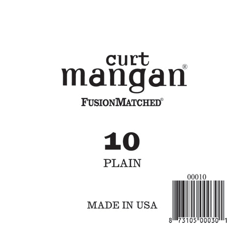 Curt Mangan 10 Plain Ball End Single String - Dynamic Music Distribution