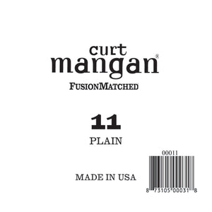 Curt Mangan 11 Plain Ball End Single String - Dynamic Music Distribution