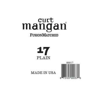 Curt Mangan 17 Plain Ball End Single String - Dynamic Music Distribution