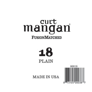 Curt Mangan 18 Plain Ball End Single String - Dynamic Music Distribution