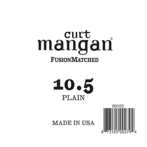 Curt Mangan 10.5 Plain Ball End Single String - Dynamic Music Distribution