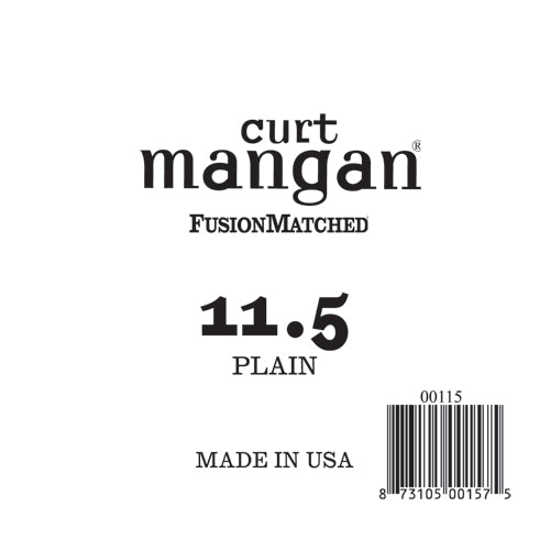 Curt Mangan 11.5 Plain Ball End Single String - Dynamic Music Distribution