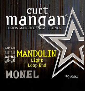 Curt Mangan MONEL Mandolin Light Strings - Dynamic Music Distribution