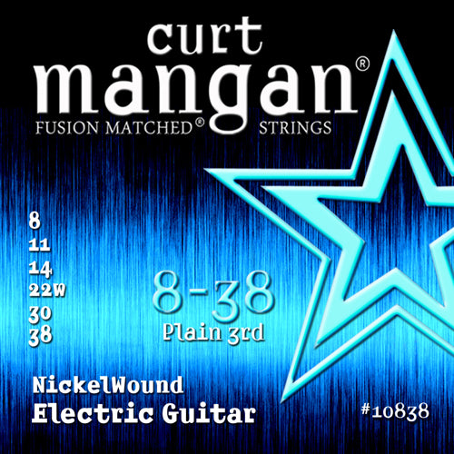 Curt Mangan 8-38 Nickel Wound Electric Guitar - Dynamic Music Distribution