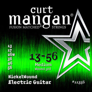Curt Mangan 13-56 Nickel Wound Set (Electric Guitar) - Dynamic Music Distribution
