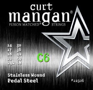 C6 Pedal Steel Stainless Wound Set