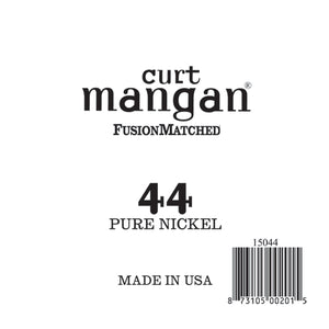 Curt Mangan 44 Pure Nickel Wound Single String