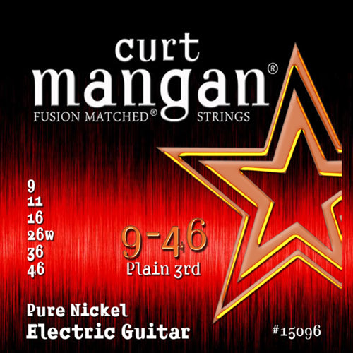 Curt Mangan 9-46 Pure Nickel Electric Guitar Strings - Dynamic Music Distribution