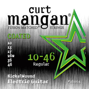 Curt Mangan 10-46 Nickel Wound Coated Electric Guitar Strings - Dynamic Music Distribution