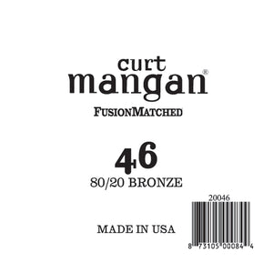 Curt Mangan 46 80/20 Bronze Single String