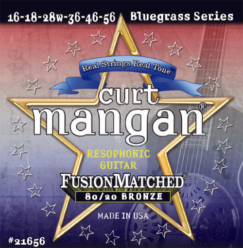 Curt Mangan 16-56 80/20 Bronze Resophonic Set (Acoustic Guitar) - Dynamic Music Distribution
