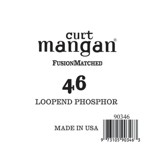 Curt Mangan 46 Loop End PhosPhor Bronze Single String
