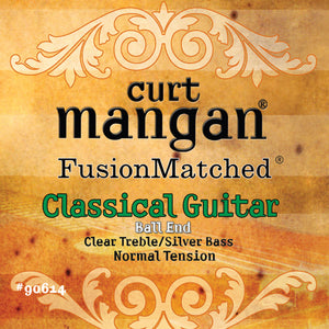Curt Mangan Ball-End Normal Tension Classic Set Classical Guitar Strings - Dynamic Music Distribution