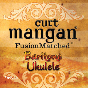 Curt Mangan Baritone Ukulele String Set - Dynamic Music Distribution