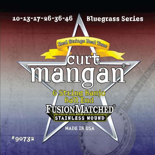 Curt Mangan Banjo Guitar Stainless Steel - Dynamic Music Distribution