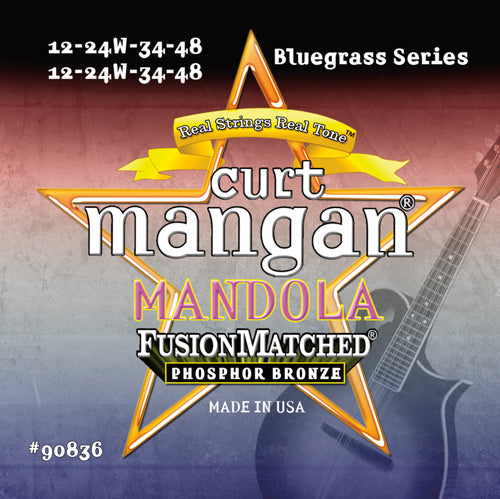 Curt Mangan Mandola Phosphor Bronze Acoustic Guitar Strings - Dynamic Music Distribution