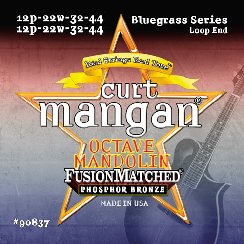Curt Mangan Octave Mandolin Phosphor Bronze Acoustic Guitar Strings - Dynamic Music Distribution