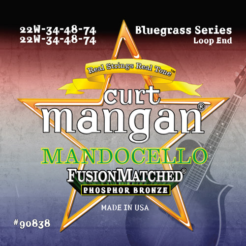 Curt Mangan Mandocello Phosphor Bronze Acoustic Guitar Strings - Dynamic Music Distribution