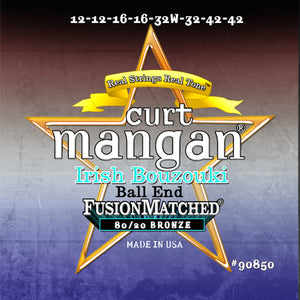 Curt Mangan 12-42 Irish Bouzouki Light - Ball End Strings - Dynamic Music Distribution