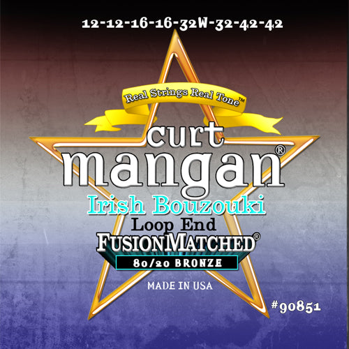 Curt Mangan 12-42 Irish Bouzouki Light - Loop End Strings - Dynamic Music Distribution