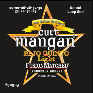 Curt Mangan Bajo Sexto Light Phosphor Bronze Strings - Dynamic Music Distribution