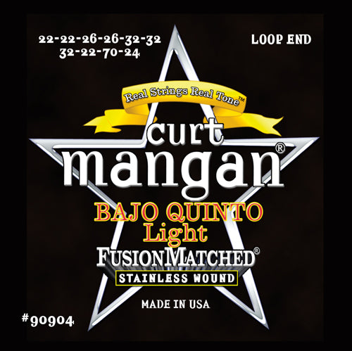Curt Mangan Bajo Quinto Light Stainless Steel Strings - Dynamic Music Distribution