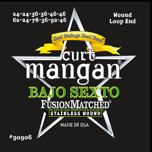 Curt Mangan Bajo Sexto Light Stainless Steel Strings - Dynamic Music Distribution