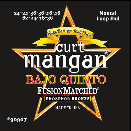 Curt Mangan Bajo Quinto Phosphor Bronze Strings - Dynamic Music Distribution