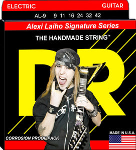 DR Alexi Laiho Electric Guitar Strings 9-42 - Dynamic Music Distribution