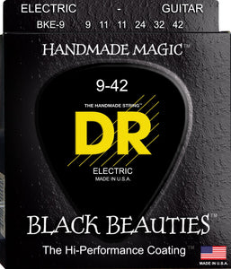 DR Black Beauty Electric Guitar Strings 9-42 - Dynamic Music Distribution