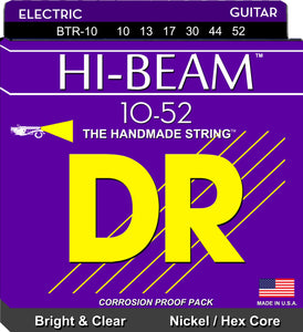 DR Hi-Beam Electric Guitar Strings 10-52 - Dynamic Music Distribution