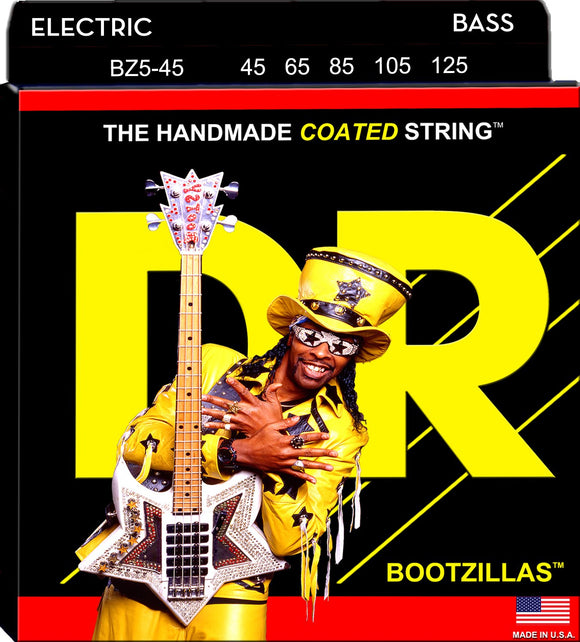 DR Bootzillas Bass Guitar 5Strings 45-125 - Dynamic Music Distribution