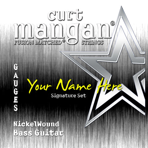 Curt Mangan 6x CS Bass 5 String COATED - Guitar Gear Pro