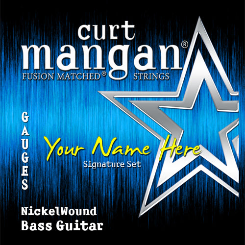 Curt Mangan 6x CS Bass 6 String - Guitar Gear Pro