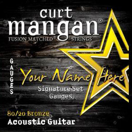 Curt Mangan 12 x CS 80/20 Bronze 6 String - Guitar Gear Pro