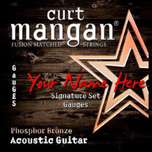 Curt Mangan 12 x CS PhosPhor Bronze 6 String COATED - Dynamic Music Distribution