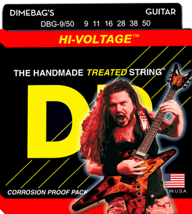 DR Hi-Voltage Electric Guitar Strings 9-50 - Dynamic Music Distribution