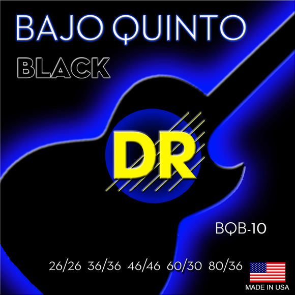 DR Black Beauty Bajo Quin Strings - Dynamic Music Distribution