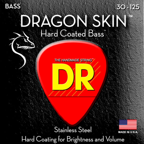 DR Dragon Skin Bass Guitar 6Strings 30-125 - Dynamic Music Distribution