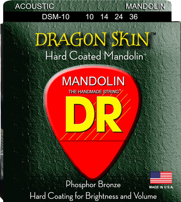 DR Drag Skin Mandolin Strings 10-36 - Dynamic Music Distribution