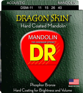 DR Drag Skin Mandolin Strings 11-40 - Dynamic Music Distribution