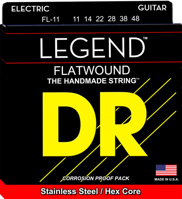 DR Legend Electric Guitar Strings 11-48 - Dynamic Music Distribution