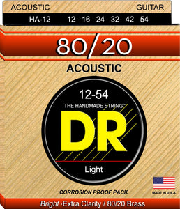 DR Hi-Beam Acoustic Guitar Strings 12-54 - Dynamic Music Distribution